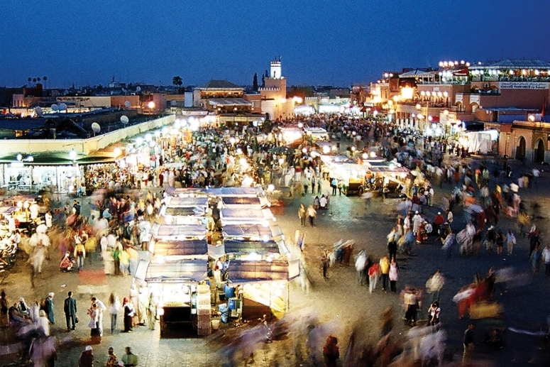 Djemaa-el-Fna-evening