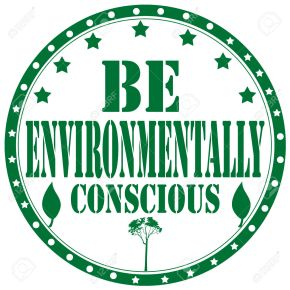 Be Environmentally Conscious-stamp