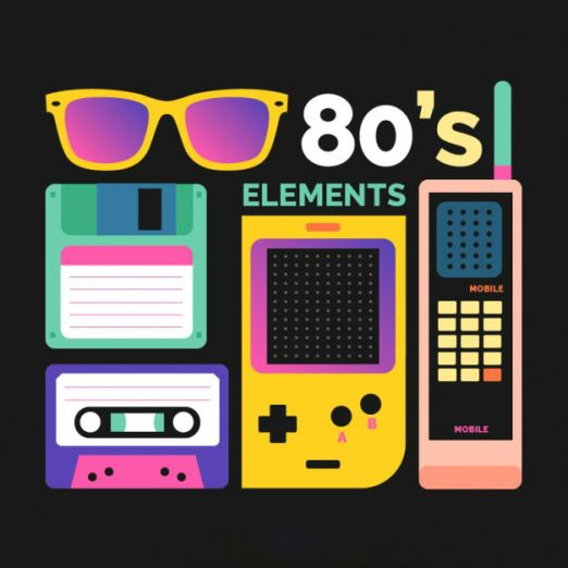 eighties-elements-with-high-contrast_23-2147572867
